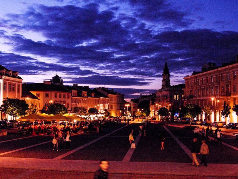 Vilnius – Piazza del Municipio (Vilniaus rotušės aikštė)