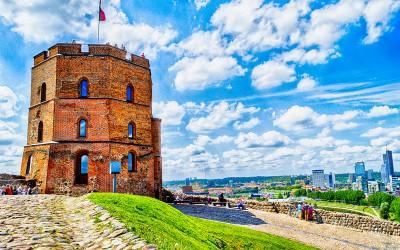 Vilnius – Torre di Gediminas