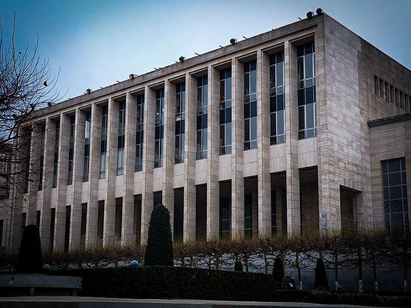 Bruxelles – Biblioteca Reale del Belgio