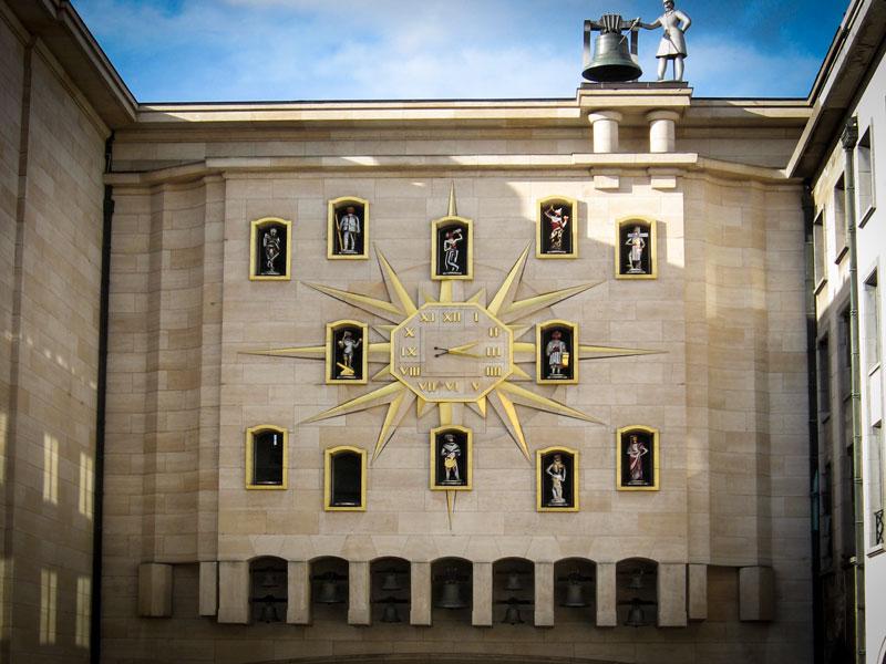 Bruxelles – Carrilon de Mont des Arts