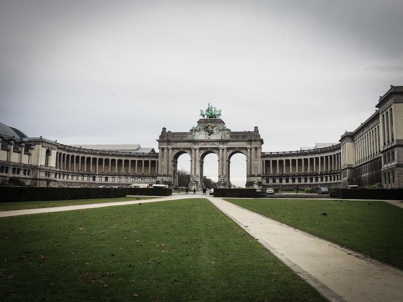 Bruxelles – Parco del Cinquantenario e Arco di Trionfo