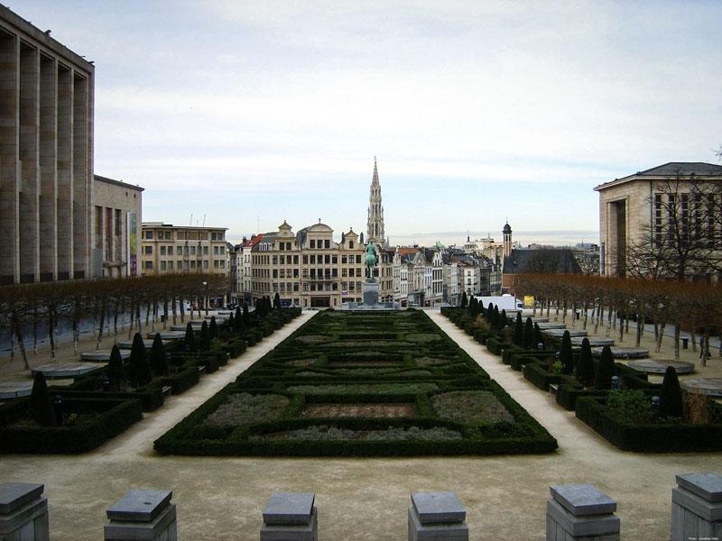 Bruxelles – Mont des Arts (Kunstberg)