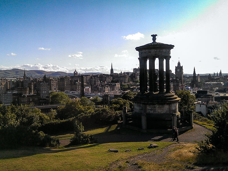 Edimburgo – Calton Hill