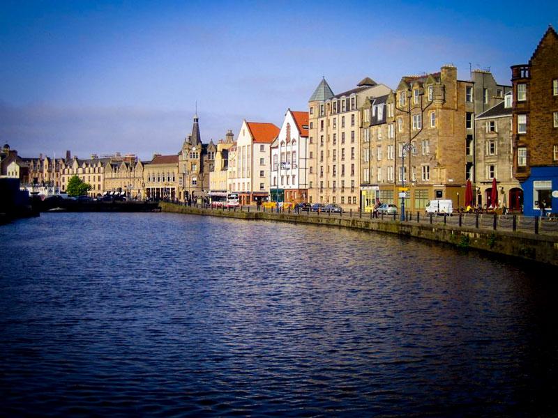 Edimburgo – Leith Quartier
