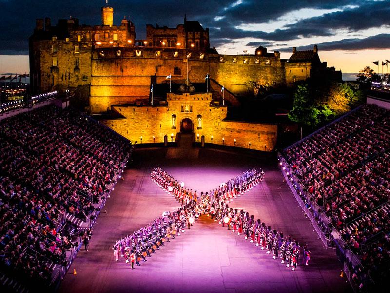 Edimburgo – Military Tattoo Festival