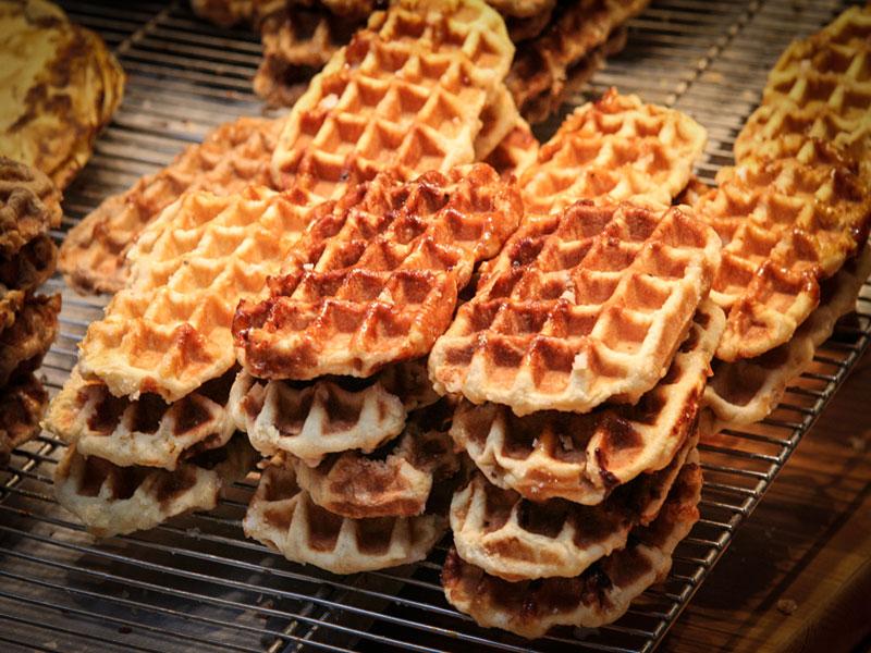 Bruxelles – Gaufre (Belgian waffle)