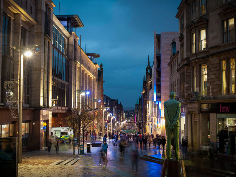 Cosa vedere a Glasgow – Buchanan Street