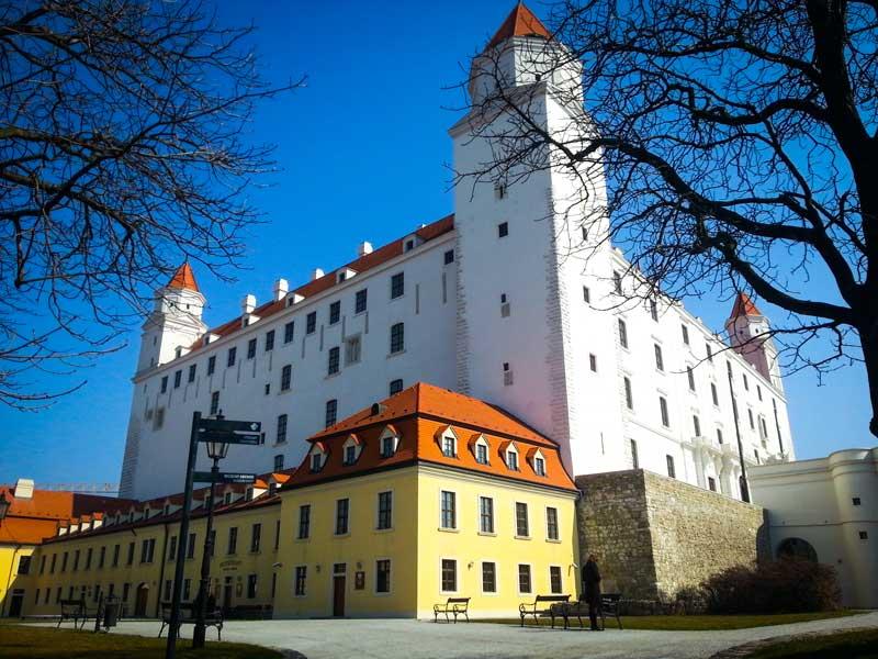 Copertina Castello di Bratislava