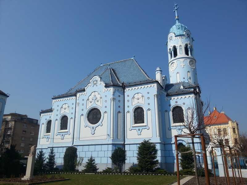 Copertina Chiesa Blu