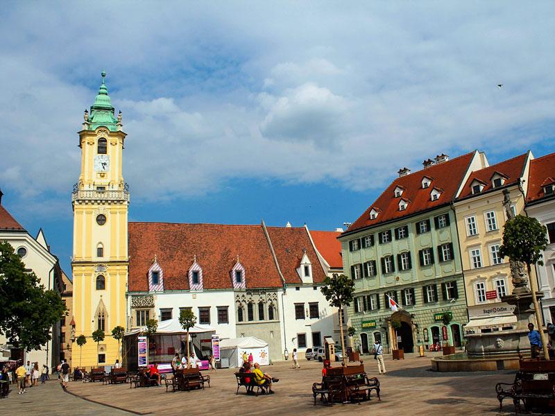 Cosa vedere a Bratislava – Old Town Hall