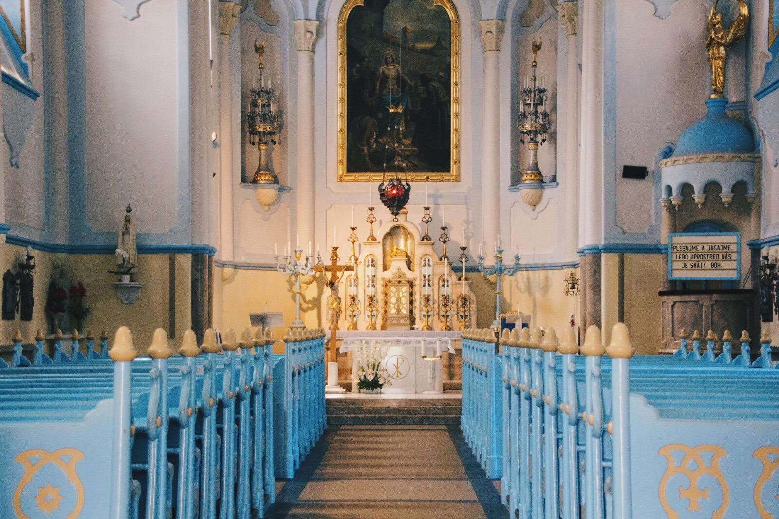 Bratislava - Chiesa Blu di Santa Elisabetta