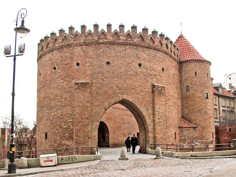 Cosa vedere a Varsavia – Barbacane