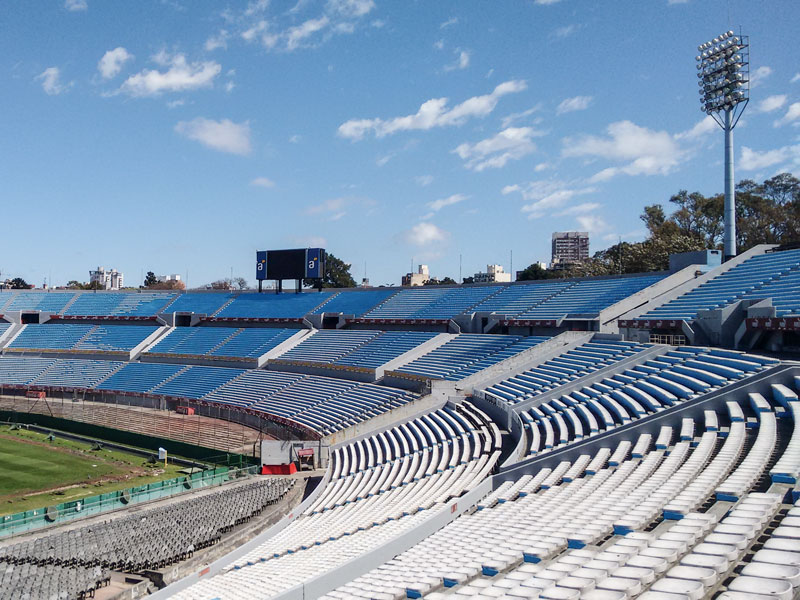 Estadio Centenario di Montevideo ed il Museo del Futbol