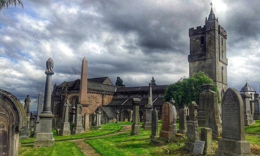 Sempre in Partenza - Il cimitero Holy Rude a Stirling