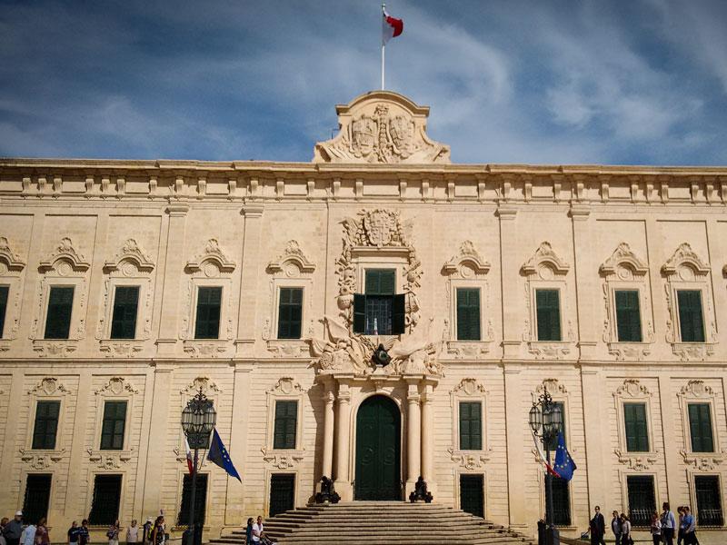 Cosa vedere a La Valletta – Auberge de Castille