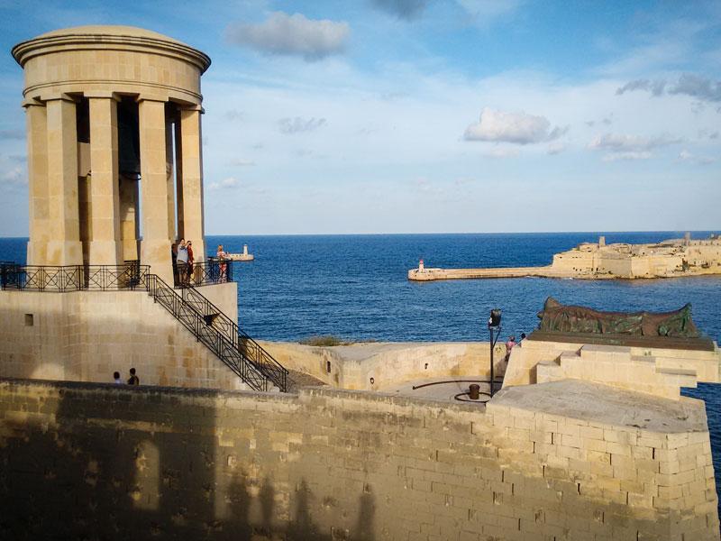 Cosa vedere a La Valletta – Siege Bell