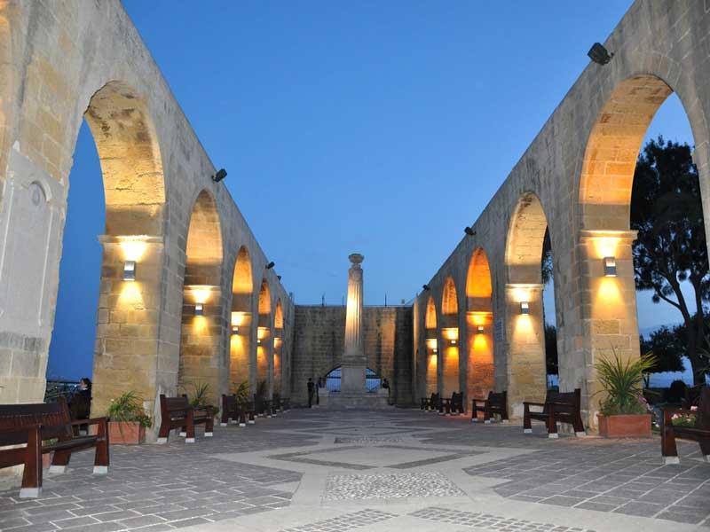 Cosa vedere a La Valletta – Gli Upper Barrakka Gardens