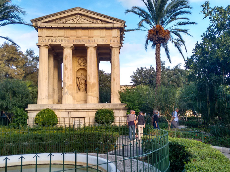 Cosa vedere a La Valletta – Lower Barrakka Gardens