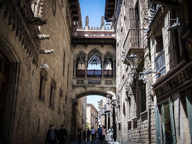 Copertina Barrio Gotico Barcellona