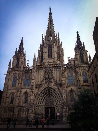 Barcellona - La Cattedrale di Barcellona