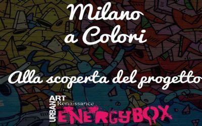 Energy Box – Street Art Milano con #milanoAColori