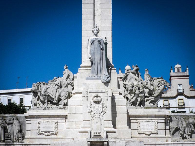 Cosa vedere a Cadice – Monumento de las Cortes