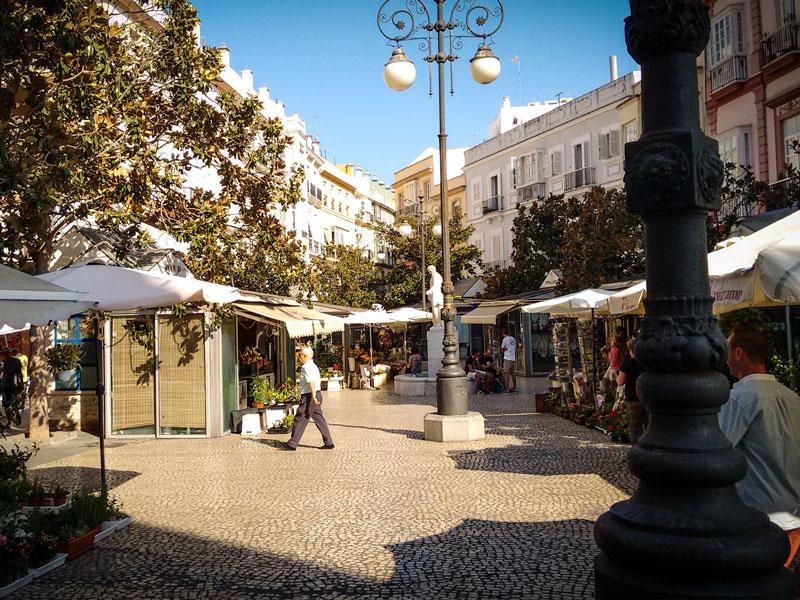 Cosa vedere a Cadice – Plaza de las Flores