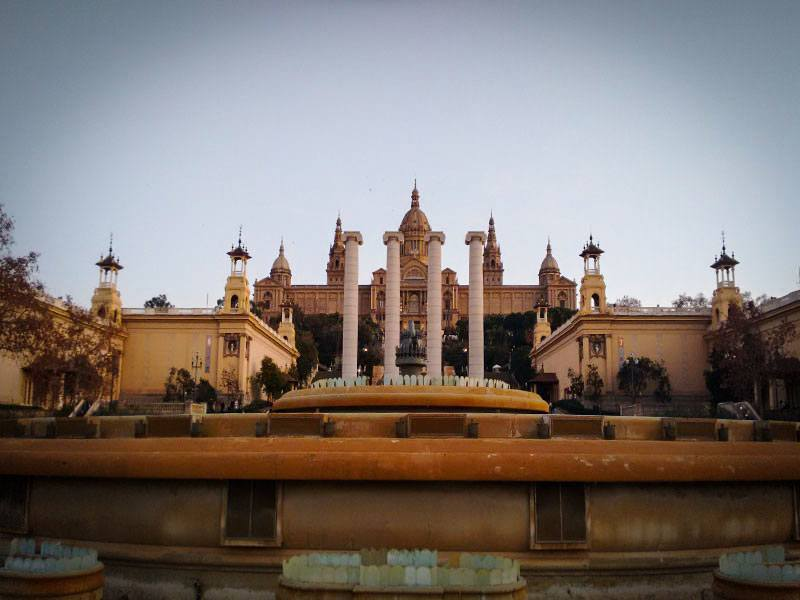 Barcellona - Fonte Magica di Montjuic