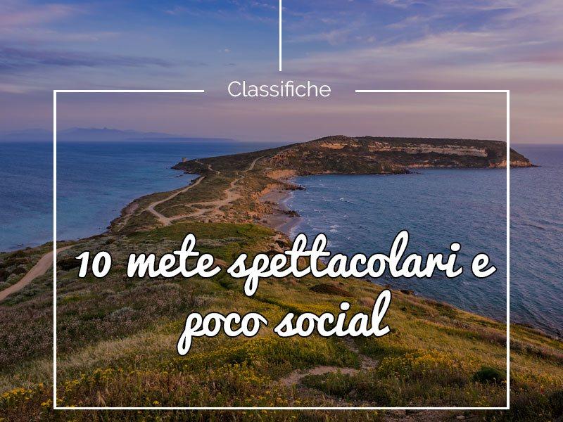 10 Mete spettacolari e poco social