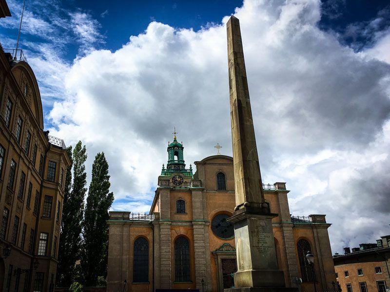 Copertina Cattedrale di Stoccolma