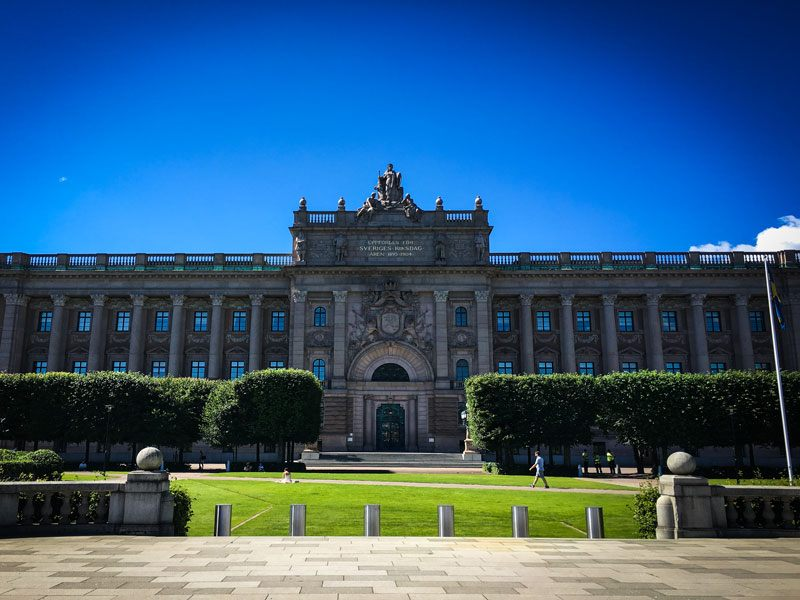 Copertina Parlamento di Stoccolma