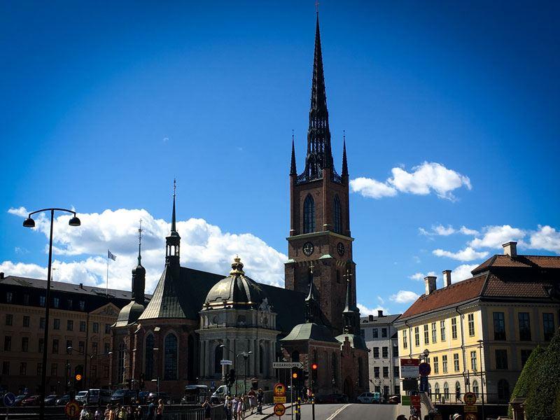 Copertina Chiesa di Riddarholmen
