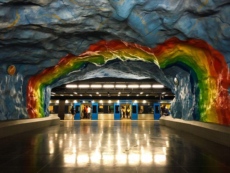 Copertina Metropolitana Stoccolma