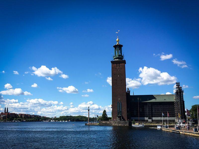 Copertina Municipio di Stoccolma
