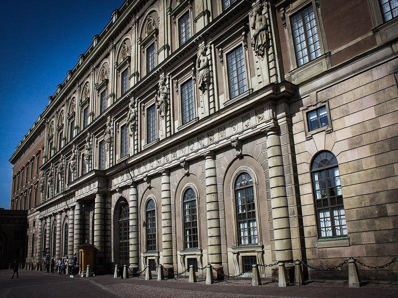 Copertina Palazzo Reale di Stoccolma