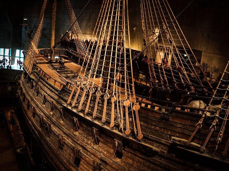 Copertina Vasa Museum Stoccolma