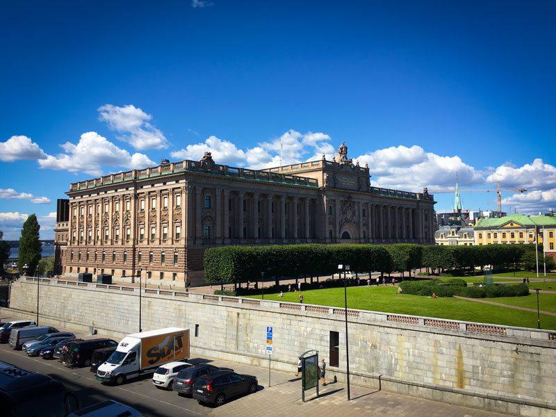 Stoccolma – Il Parlamento di Stoccolma (Riksdagshuset)