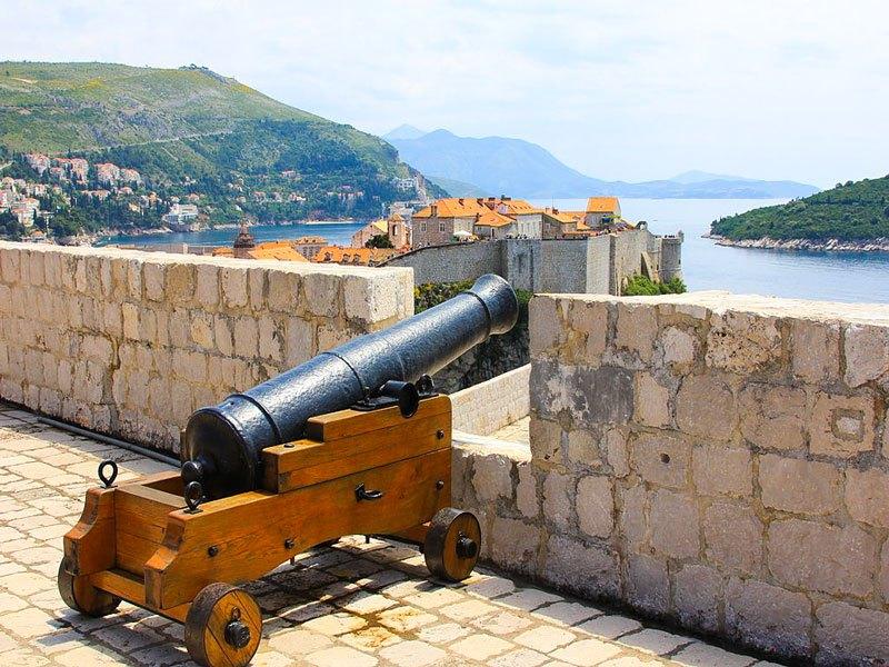Dubrovnik - Fortezza di Lovrijenac