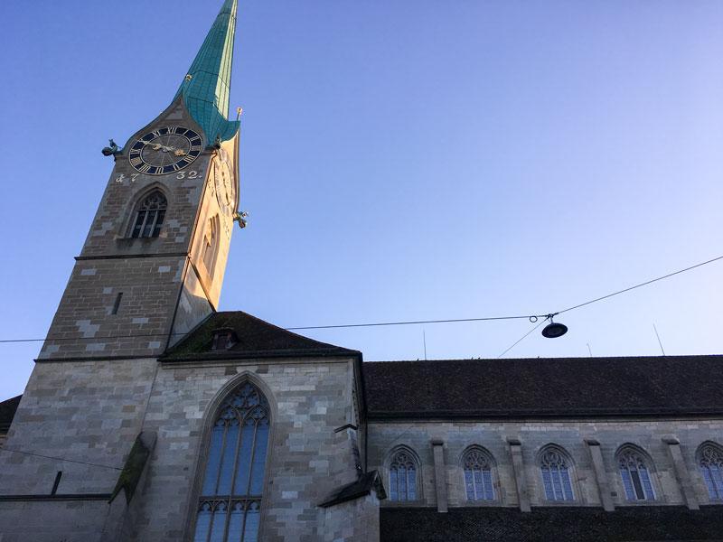 Cosa vedere a Zurigo – Fraumünster