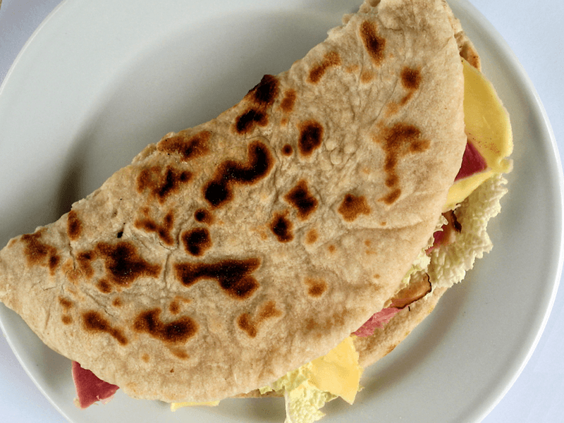 Piatto tipico di San Marino: la Piadina!