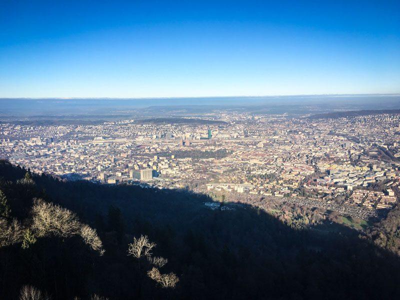 Zurigo dall'alto: Uetilberg