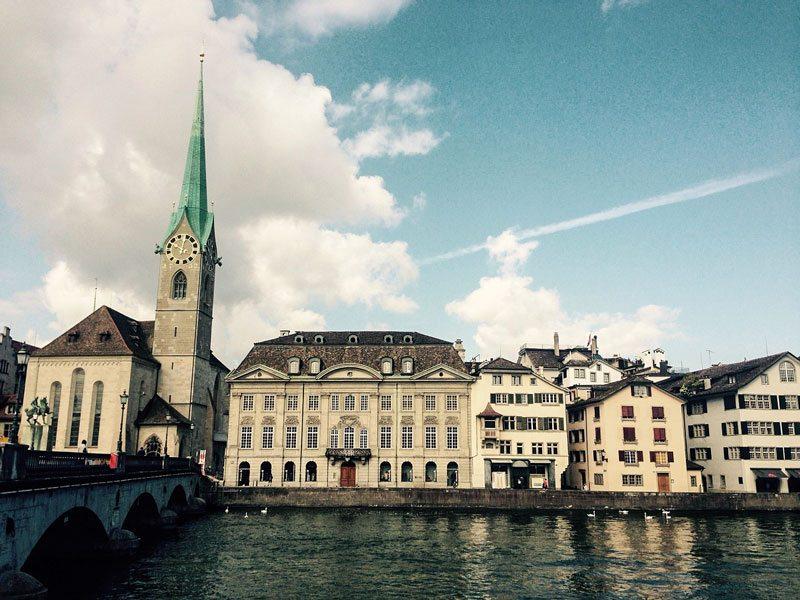 Zurigo - Fraumünster