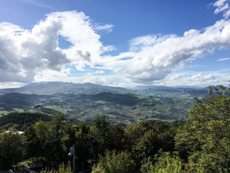 San Marino - Il Percorso Della Rupe