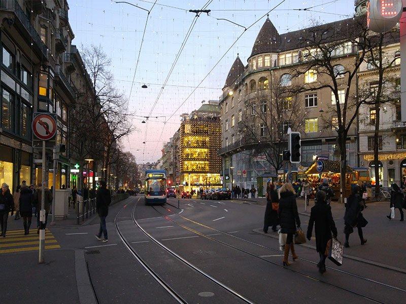 Zurigo - Bahnhofstrasse