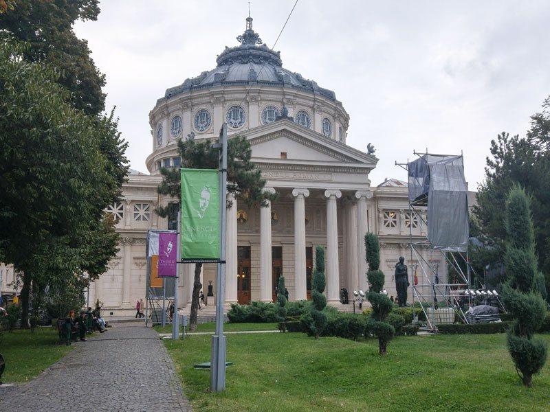 Bucarest---Ateneo-Rumeno-(Ateneul-Roman)