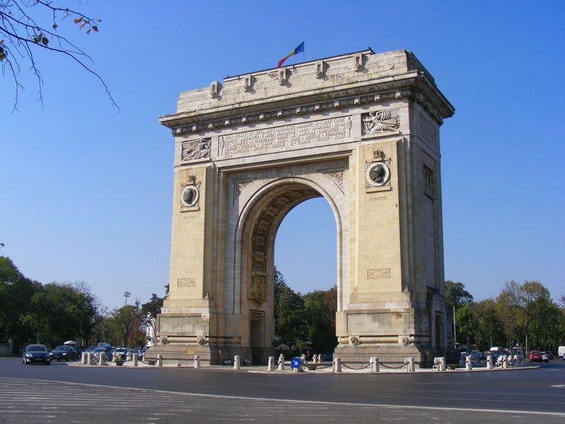 Copertina Arco di Trionfo di Bucarest