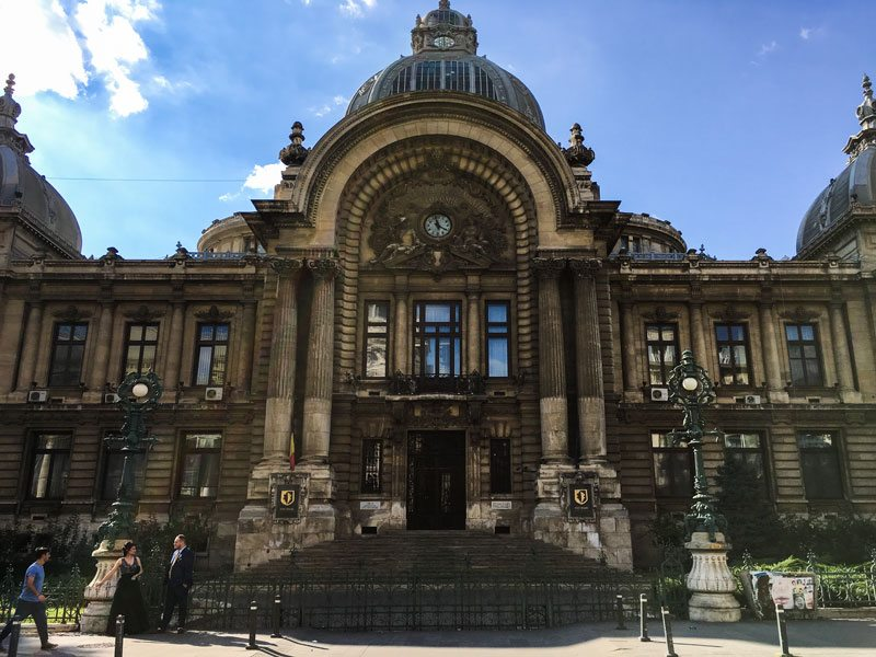 Cosa vedere a bucarest cec palace wanderlust italia for Bucarest cosa visitare