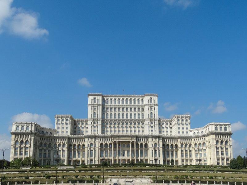 Copertina Palazzo del Parlamento di Bucarest