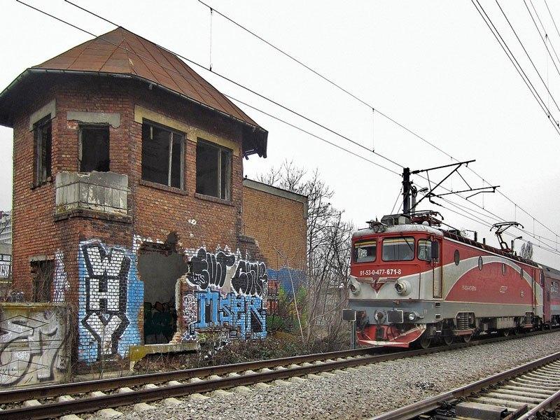 Bucarest - Stazione Ferroviaria