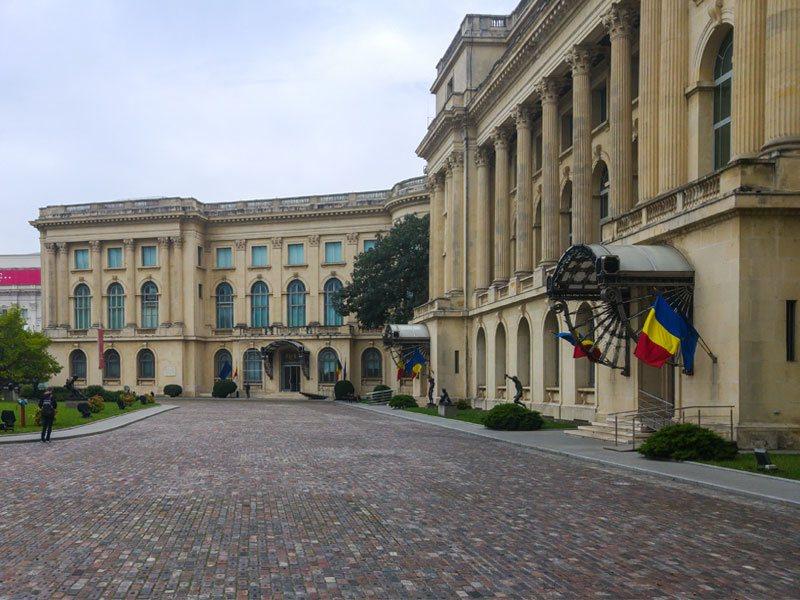 Copertina Museo nazionale d'arte rumena